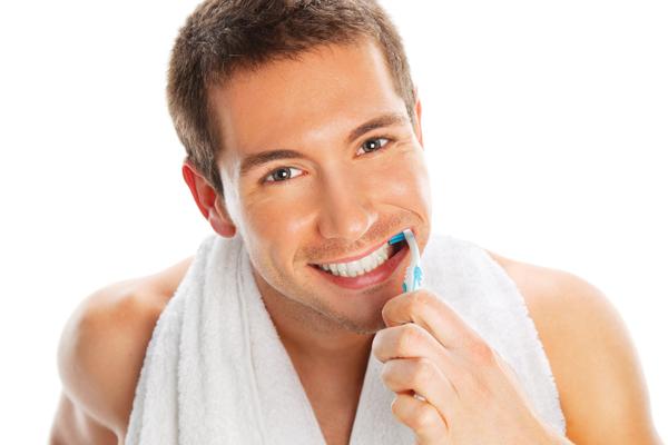 Уход за полостью рта для удаления зубного налета