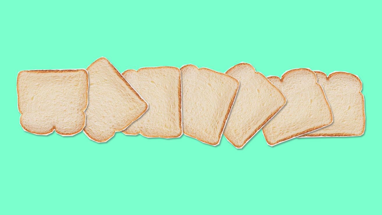 Вред для десен: хлеб