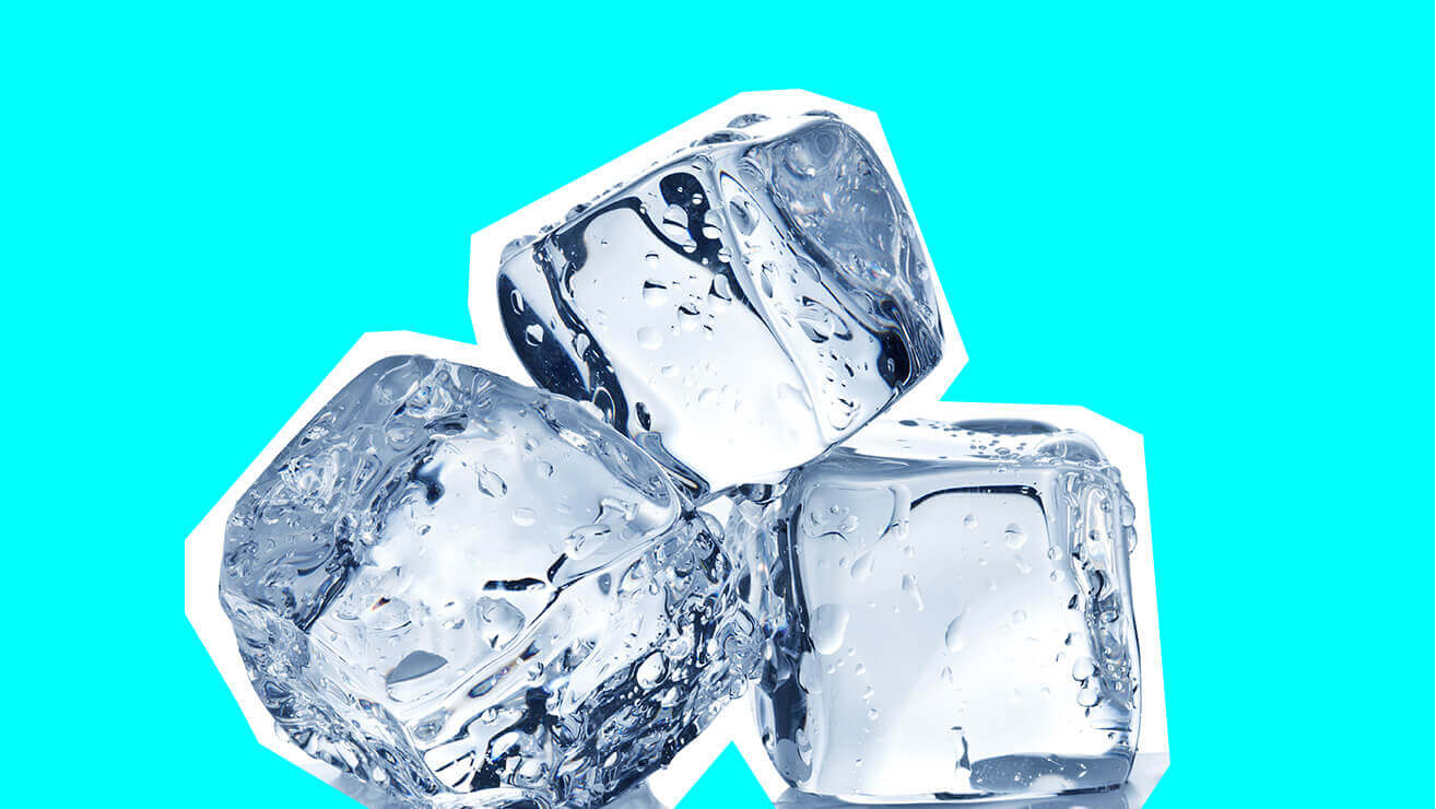 Вредные напитки и продукты для зубов: лед