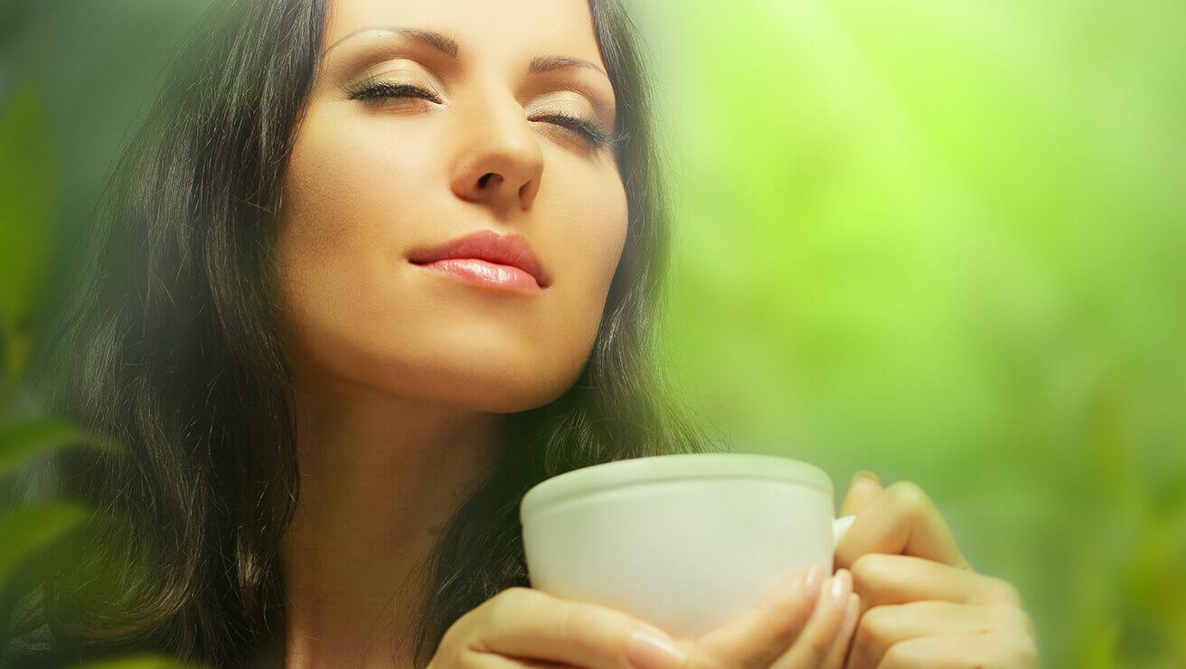 Продукты для крепких и здоровых зубов: зеленый чай