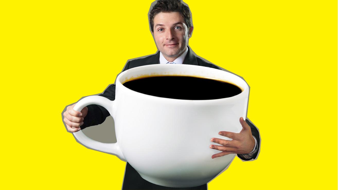 Пятна на зубах от продуктов: кофе