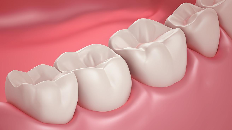 Чистые здоровые зубы