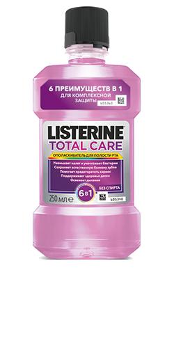 Упаковка LISTERINE® TOTAL CARE