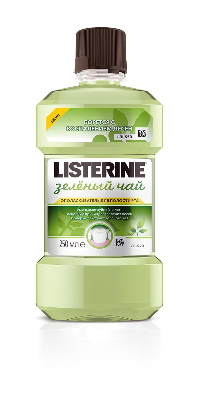 LISTERINE® «Зеленый чай»